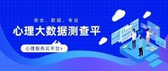 湖南省教育版心理大数据测查平台研发厂家